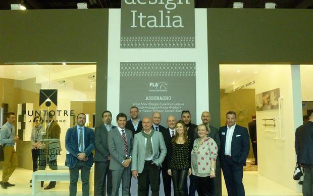 Il bagno made in italy ritorna con design italia a ish francoforte