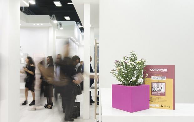 L'Isola Social a Cersaie 2017 cresce e raddoppia<br />