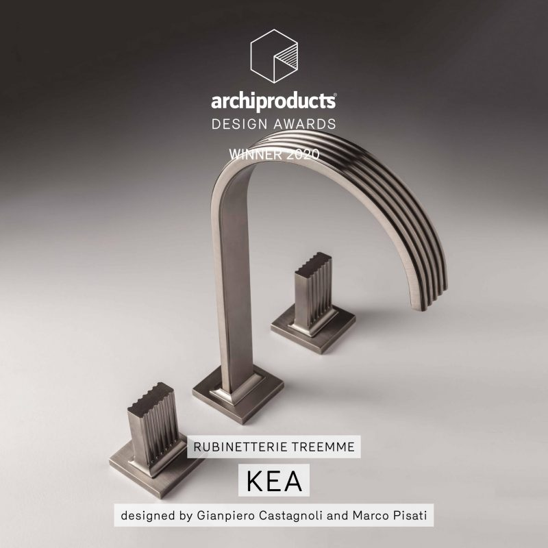 Rubinetterie Treemme vince l'Archiproducts Design Awards 2020