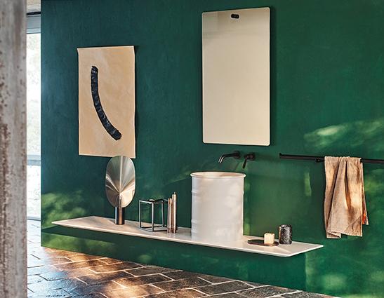 L'architettura del bagno secondo Agape al Design Post di Colonia