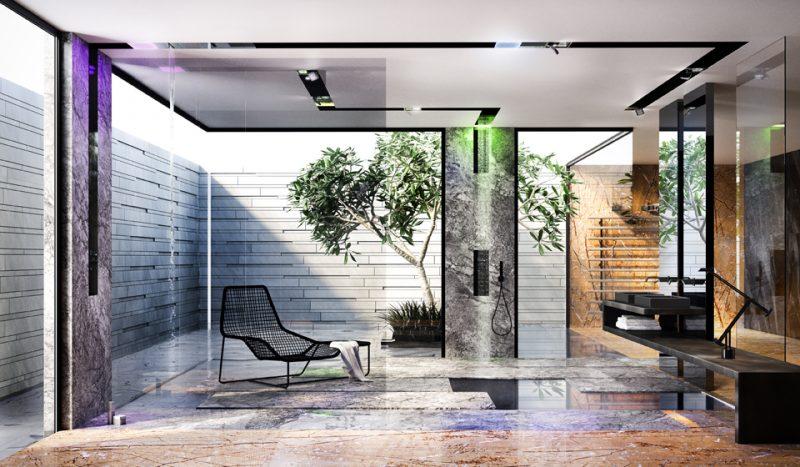 L'innovativo Gessi Architectural Wellness di Gessi a ISH (Hall 3.1 stand A20+B20)