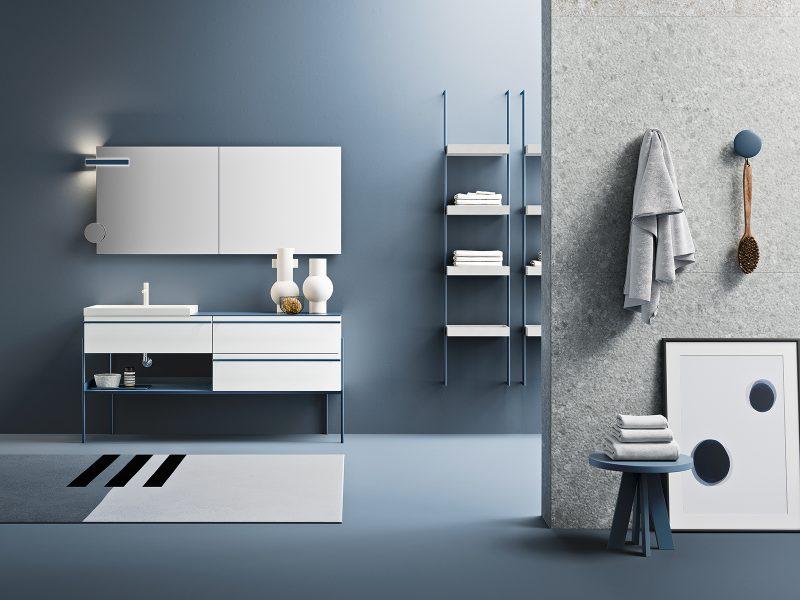 Ardeco: la stanza da bagno in Classic Blue