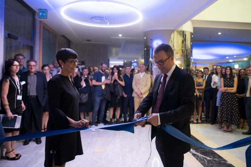 Novellini: grande opening per inaugurare il nuovo showroom