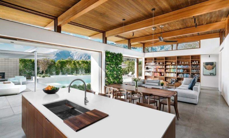Axiom Desert House, California: un'oasi moderna nel deserto