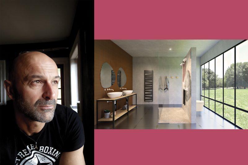 ilBagnoArchitettura   Progetto #1 VERDEBAGNO di Davide Vercelli