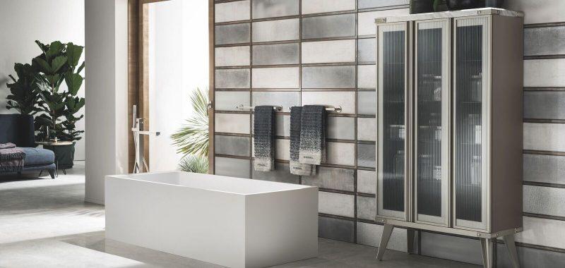 Scavolini e Diesel reinventano l'ambiente bagno in chiave industriale