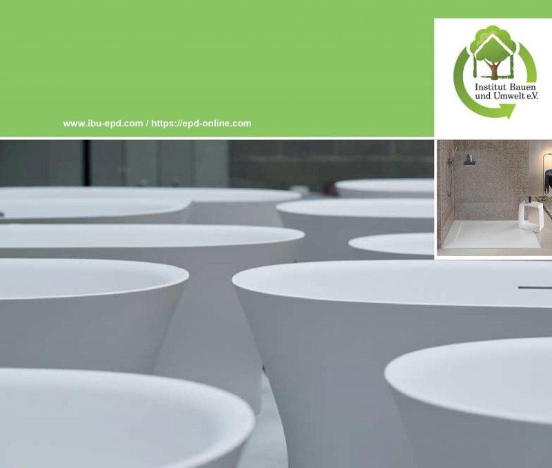 DuraSolid® di Duravit ottiene la certificazione ambientale di prodotto