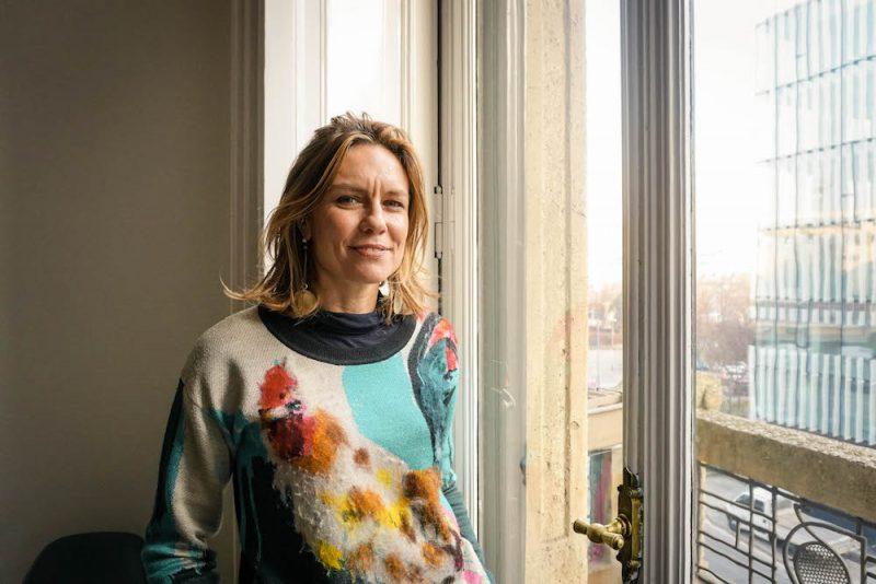 È Francesca Molteni maestra della lezione alla rovescia a Cersaie
