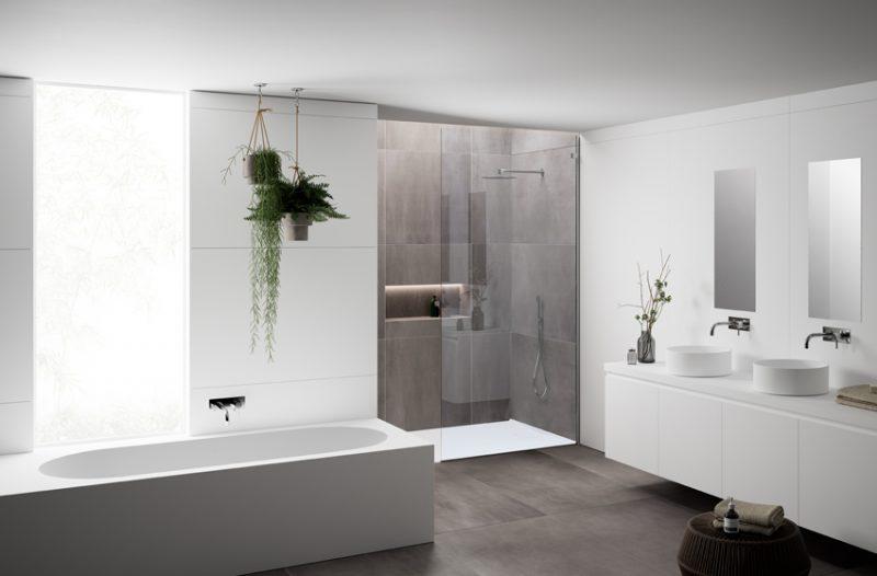 La nuova collezione di vasche da bagno e piatti doccia HI-MACS