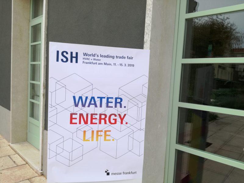 Water, Energy, Life protagonisti di ISH 2019