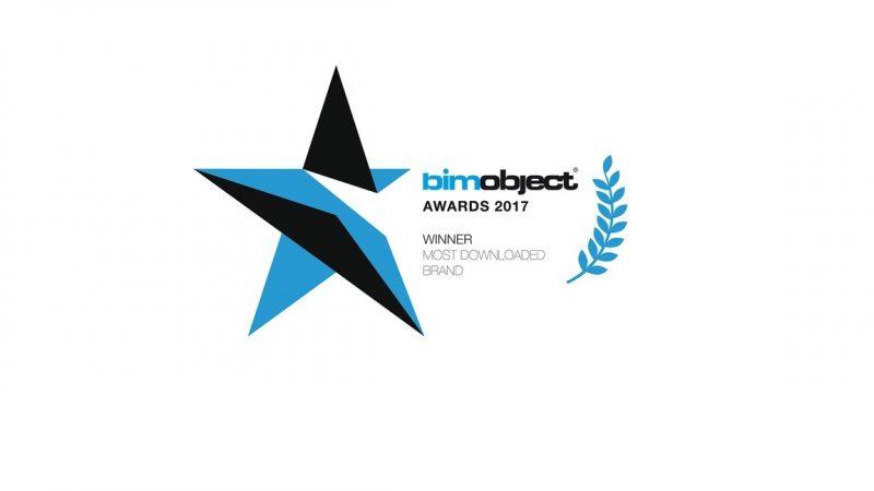 Ideal Standard riceve il premio BIMobject Awards 2017