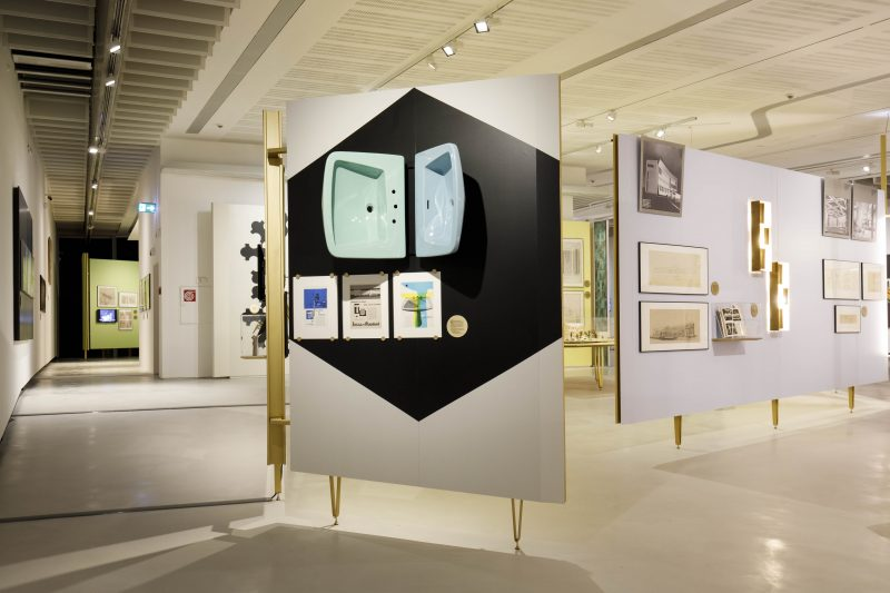 Ideal Standard al MAXXI per la mostra dedicata a Gio Ponti