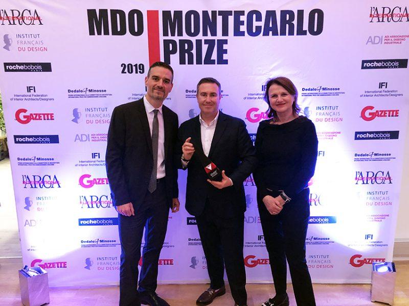 EVER Life Design vince il primo premio al MDO.Montecarlo Prize 2019