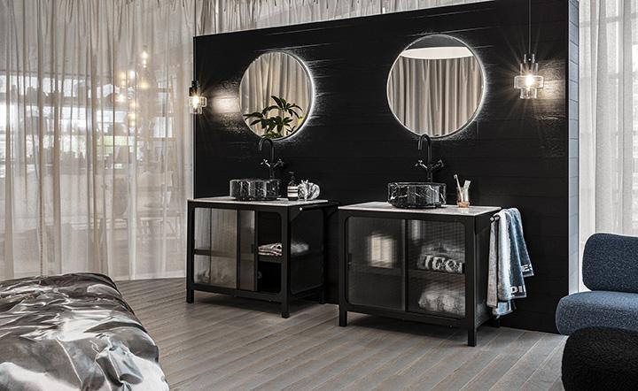 Diesel Misfits Bathroom: la nuova collezione di Scavolini in collaborazione con Diesel Living