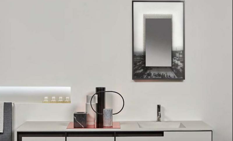 La collezione di specchi Collage di antoniolupi e Luca Galofaro