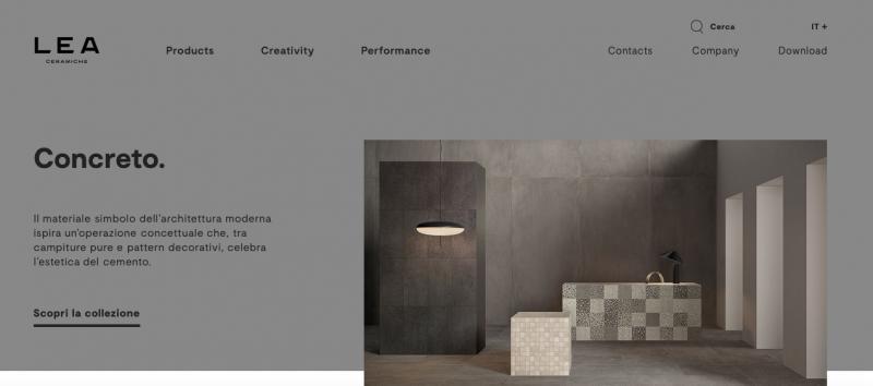 Distintività anche on-line: nasce il nuovo sito web di Lea Ceramiche