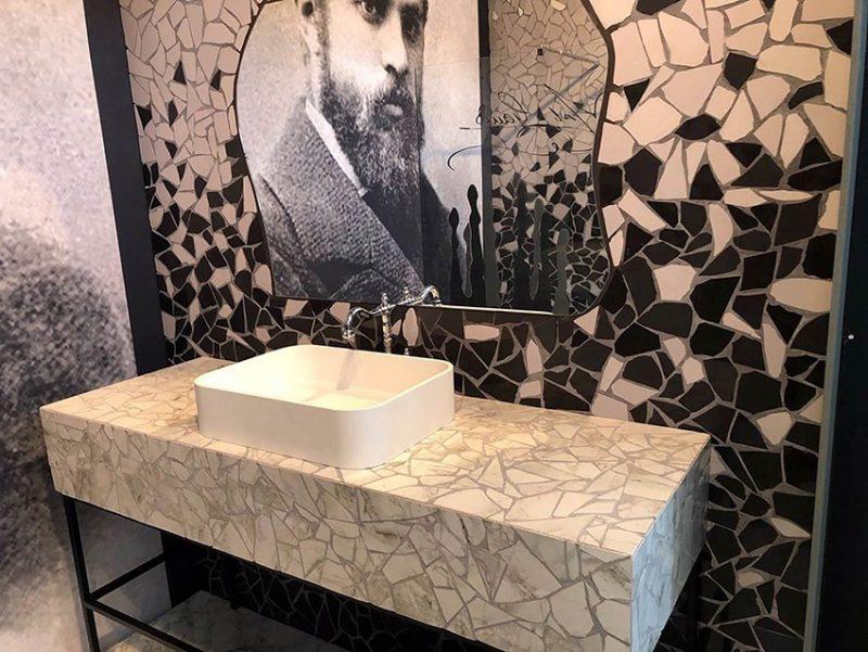 """Il Gruppo Cosentino nella mostra """"Famous Bathrooms"""" a Cersaie"""