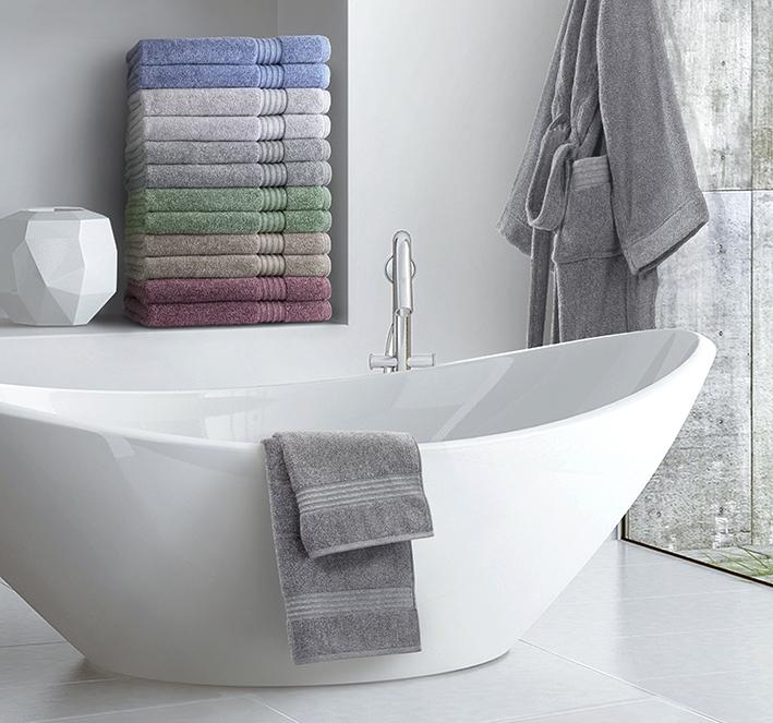 Carrara presenta a Cersaie le novità del tessile bagno