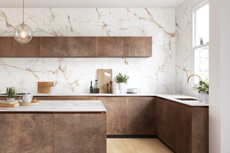 Calacatta Gold: la perfezione del marmo bianco