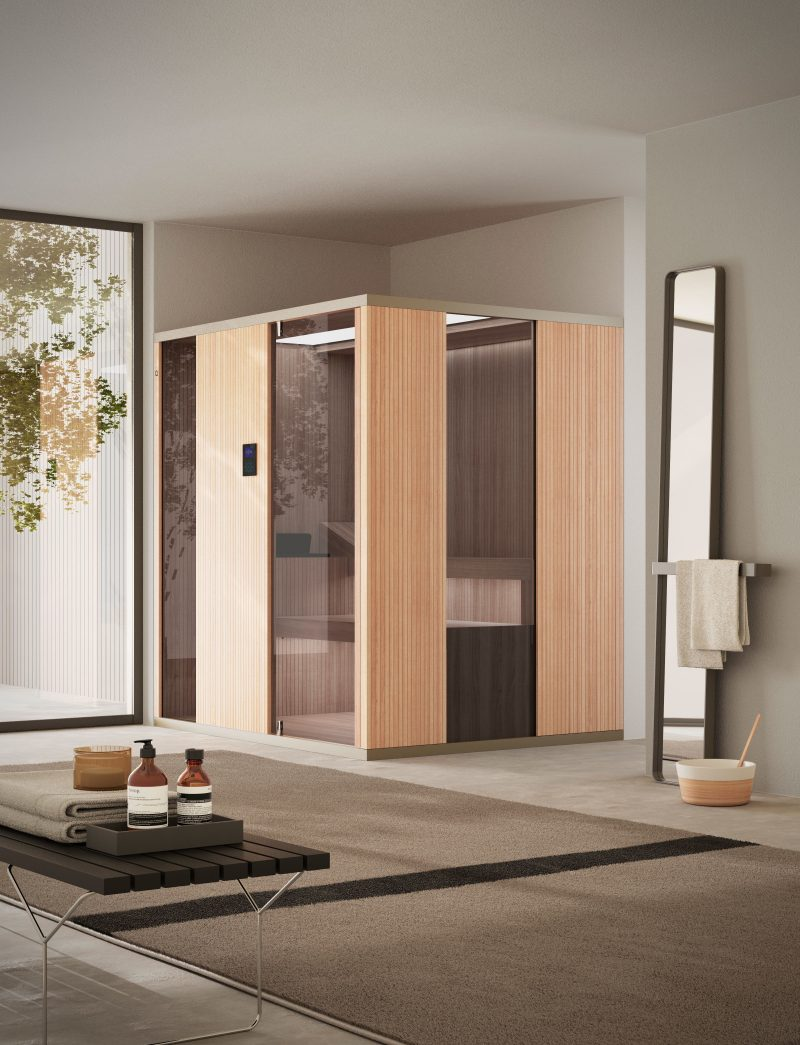 Agha presenta Zenith, la prima sauna del Gruppo Artesi