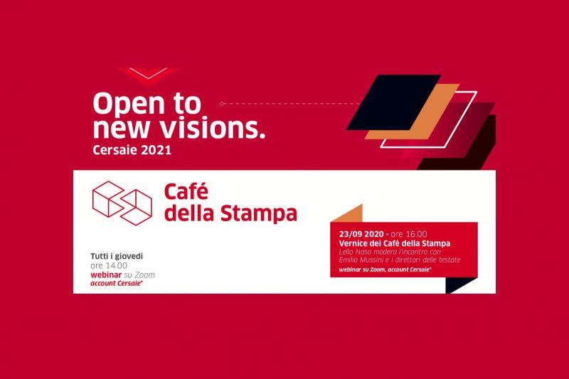 Cersaie: i 18 Cafè della Stampa si presentano il 23 settembre