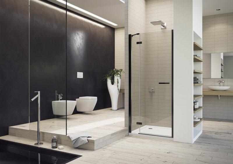 Gallery 3000, la cabina doccia si fa nera