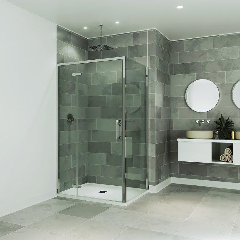 ETO Battente: il nuovo box doccia di Flair che si installa con un click!