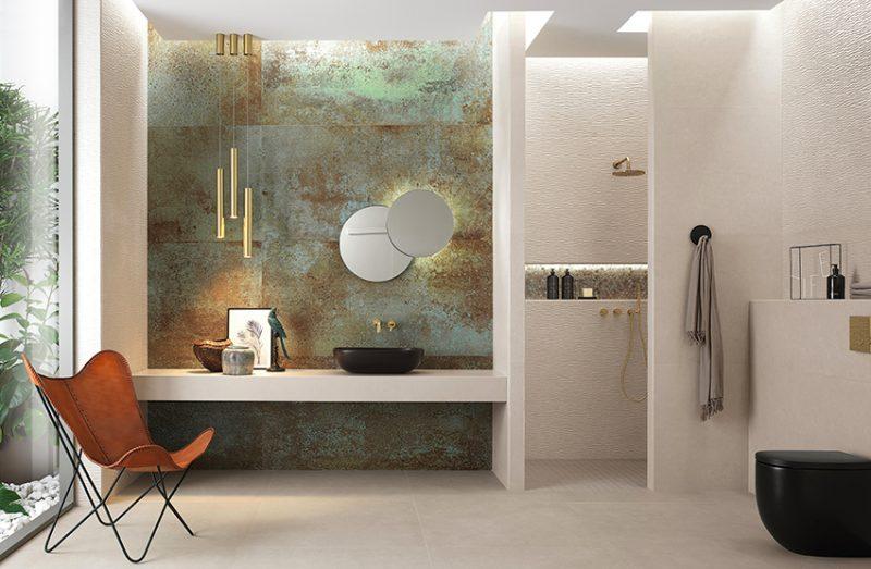 Sheer: wall tiles e gres porcellanato per insuperabili total look by FAP ceramiche
