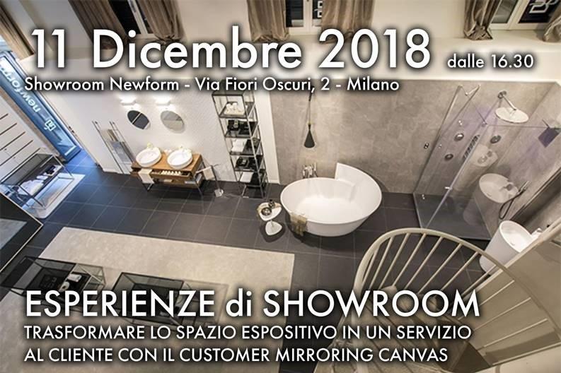 ESPERIENZE DI SHOWROOM | 11.12.2018 h.16:30 @showroom Newform a Milano