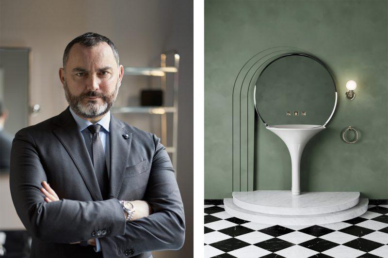 Industria e Design – Iosa Ghini per Devon&Devon: in bagno regna la bellezza