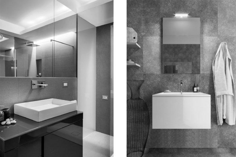 I mobili bagno Karol scelti per Torre Milano