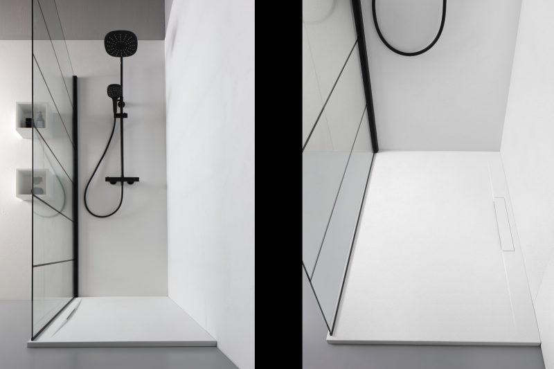 Kinedo presenta i piatti doccia Linear Matt