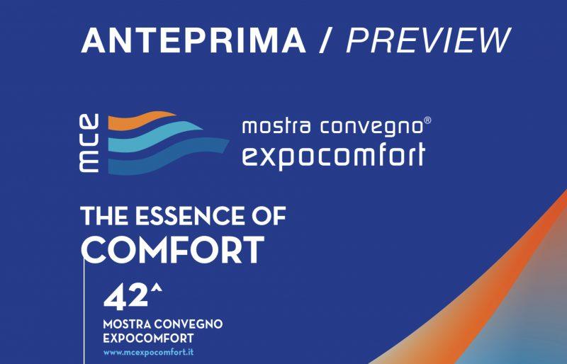 L'anteprima di Mostra Convegno Expocomfort 2020