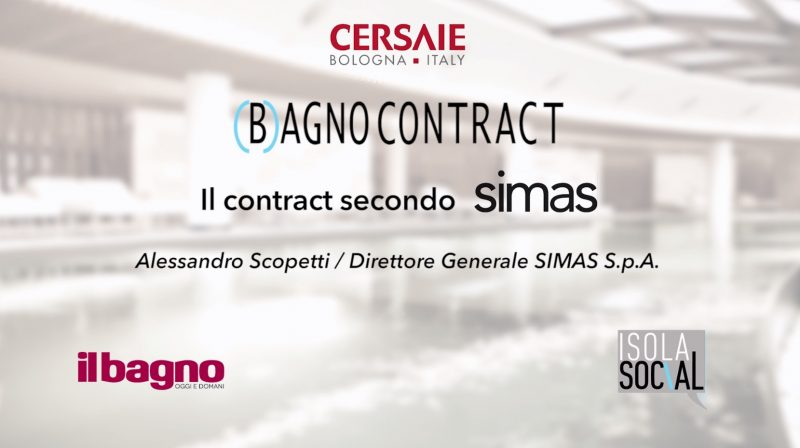 (B)agno Contract a Cersaie | Simas