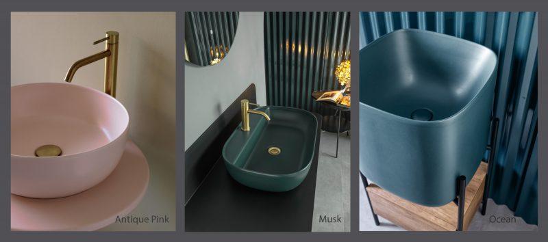 Scarabeo: nuove affascinanti cromie per un bagno di super tendenza