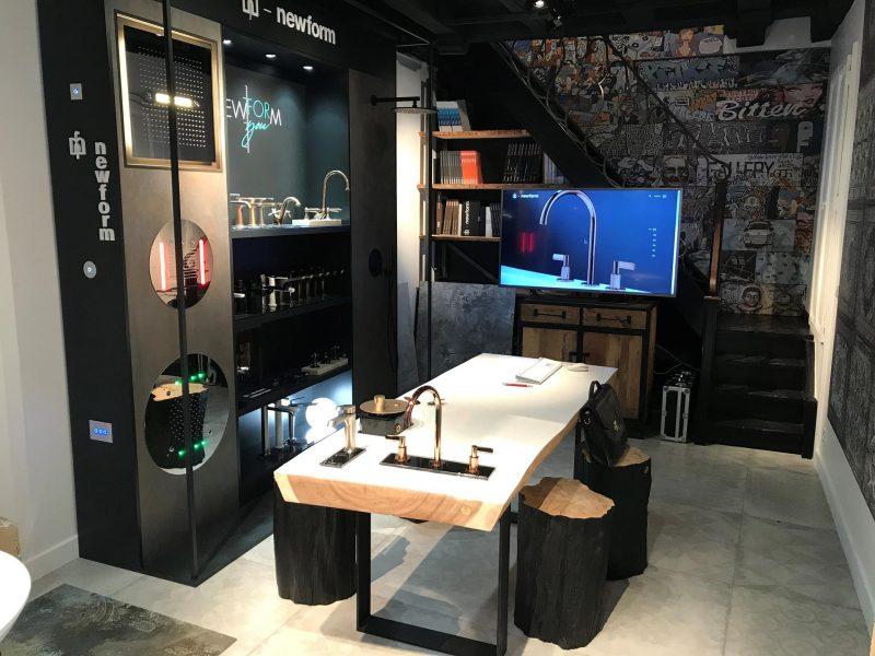 Nuovo showroom Newform a Parigi