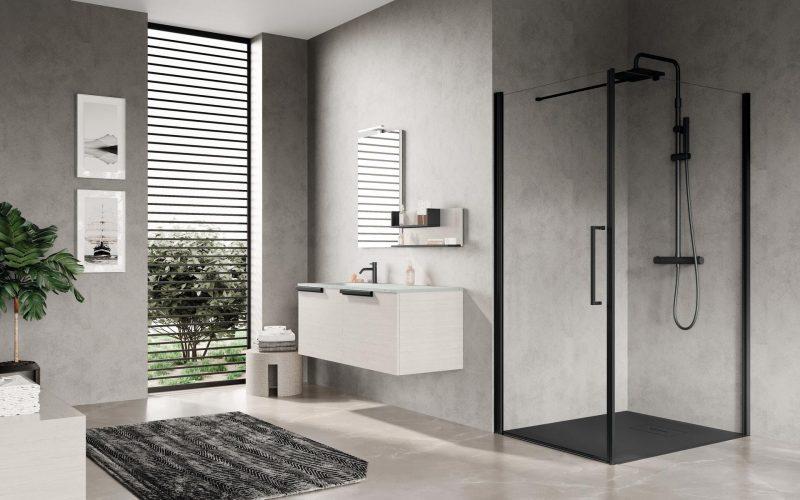 Young Plus, l'elegante doccia dal design firmato Novellini