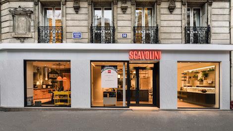 Aprono a Parigi due punti vendita monomarca Scavolini Store Paris XVII