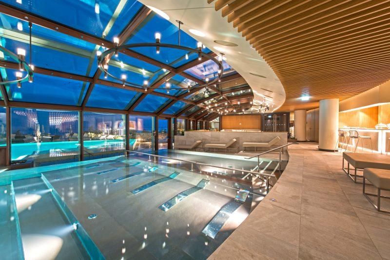 """Portopiccolo Spa, progettata da Studio Apostoli, premiata come migliore """"Luxury Destionation Spa"""" internazionale"""