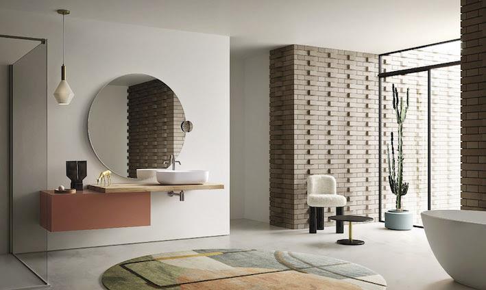 Linee essenziali e geometrie nitide per la nuova collezione Teso di Arbi Arredobagno
