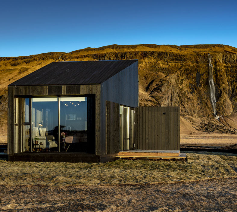 I prodotti Fima Carlo Frattini per il Seljalandsfoss Horizons in Islanda